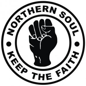 Le logo et le slogan du Northen Soul